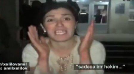 """Quba xəstəxanasında dəhşət: - """"Oğlumu həkimlər öldürdü!""""/ VİDEO"""